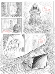 Insomnia 2 comic page sketch