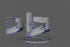 Level Design model in progress