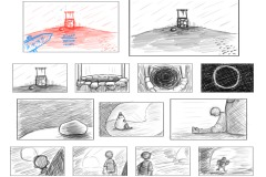 Storyboard: Start of game