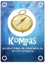 Itemcard compass
